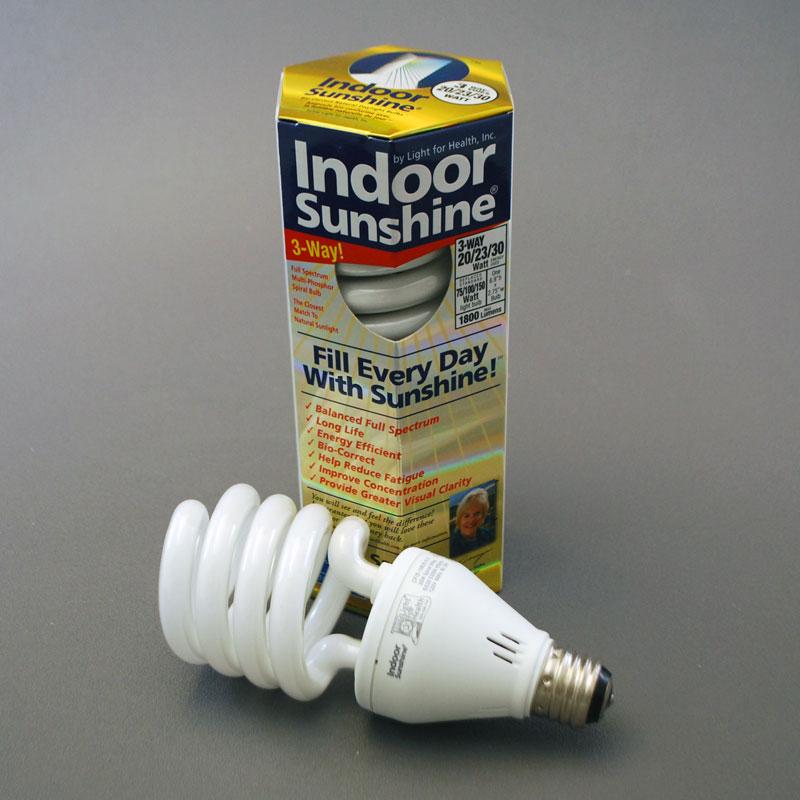 3 Way Indoor Sunshine Spiral Bulb 20 23 30 Watt 10 Pack