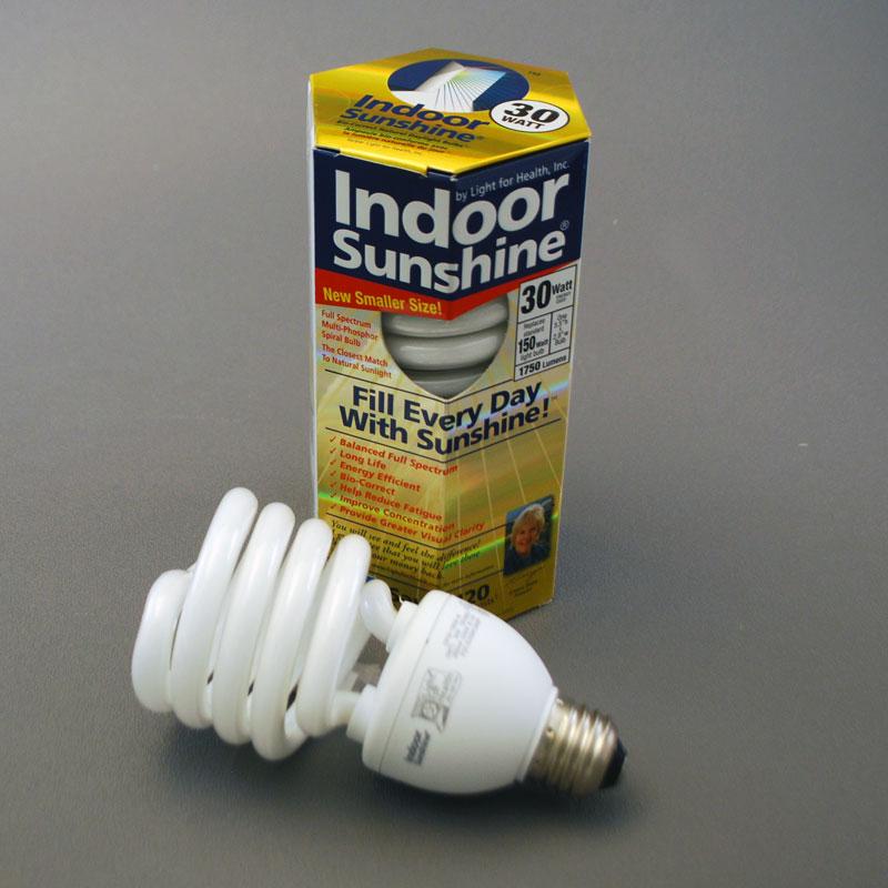 30 Watt Indoor Sunshine Spiral Bulb 10 Pack Indoor