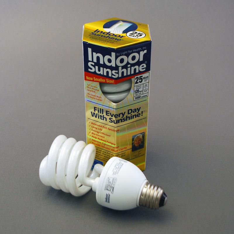 25 Watt Indoor Sunshine Spiral Bulb 10 Pack Indoor